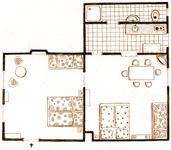 Apartmán Rosa